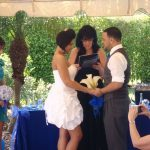 This Air Force Couple were wed in Jensen Beach Florida!